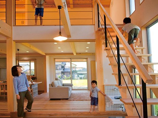 ギャラリー画像3:家族の幸せな関係をつくる家