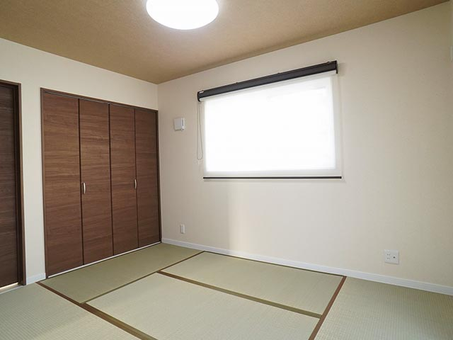 ギャラリー画像4:クロス選びが上手なカラーで楽しむお家