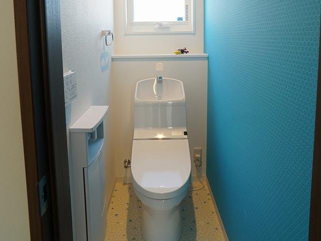 ギャラリー画像3:クロス選びが上手なカラーで楽しむお家