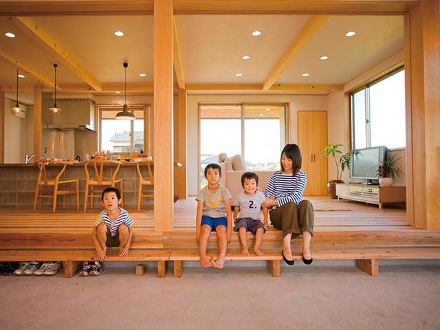 ギャラリー画像5:家族の幸せな関係をつくる家