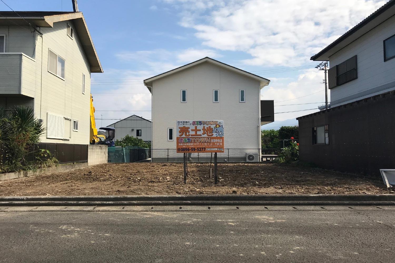 画像:四国中央市土居町津根 分譲地