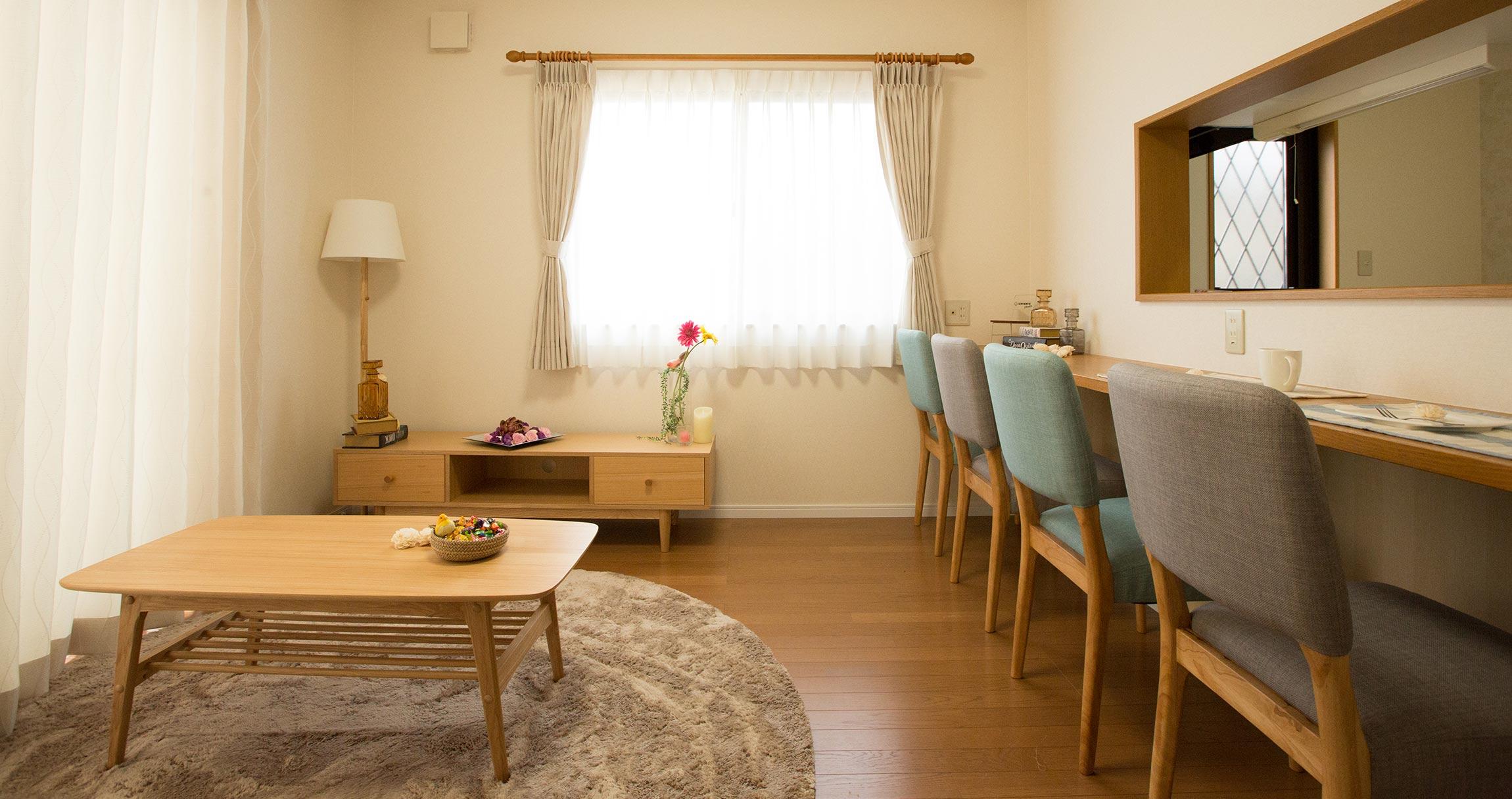画像:共働き夫婦が親と一緒に住める家