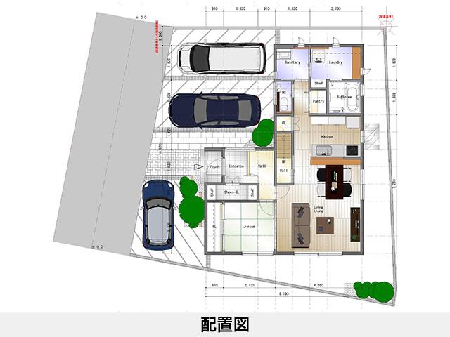 セットプラン補足画像:ロイヤルタウン上柏|四国中央市上柏町