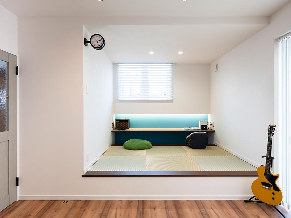 ギャラリー画像3:色を楽しむ家