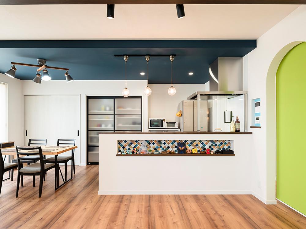 ギャラリー画像7:色を楽しむ家