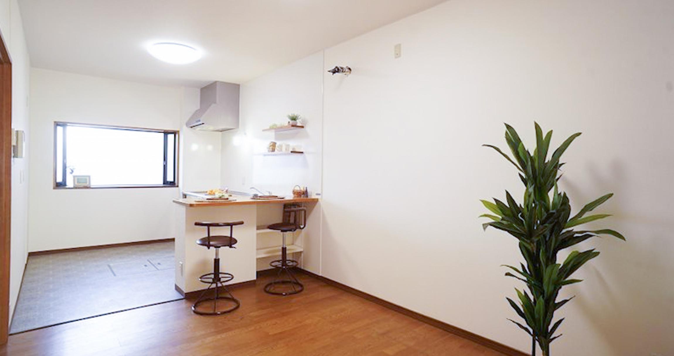 画像:便利な街中暮らしを満喫できる家