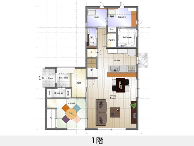 セットプラン補足画像:ロイヤルタウン上柏 建売モデル住宅